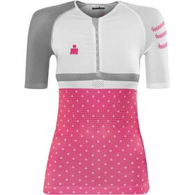 Compressport TR3 Kobiety Ironman 2017 różowy/biały